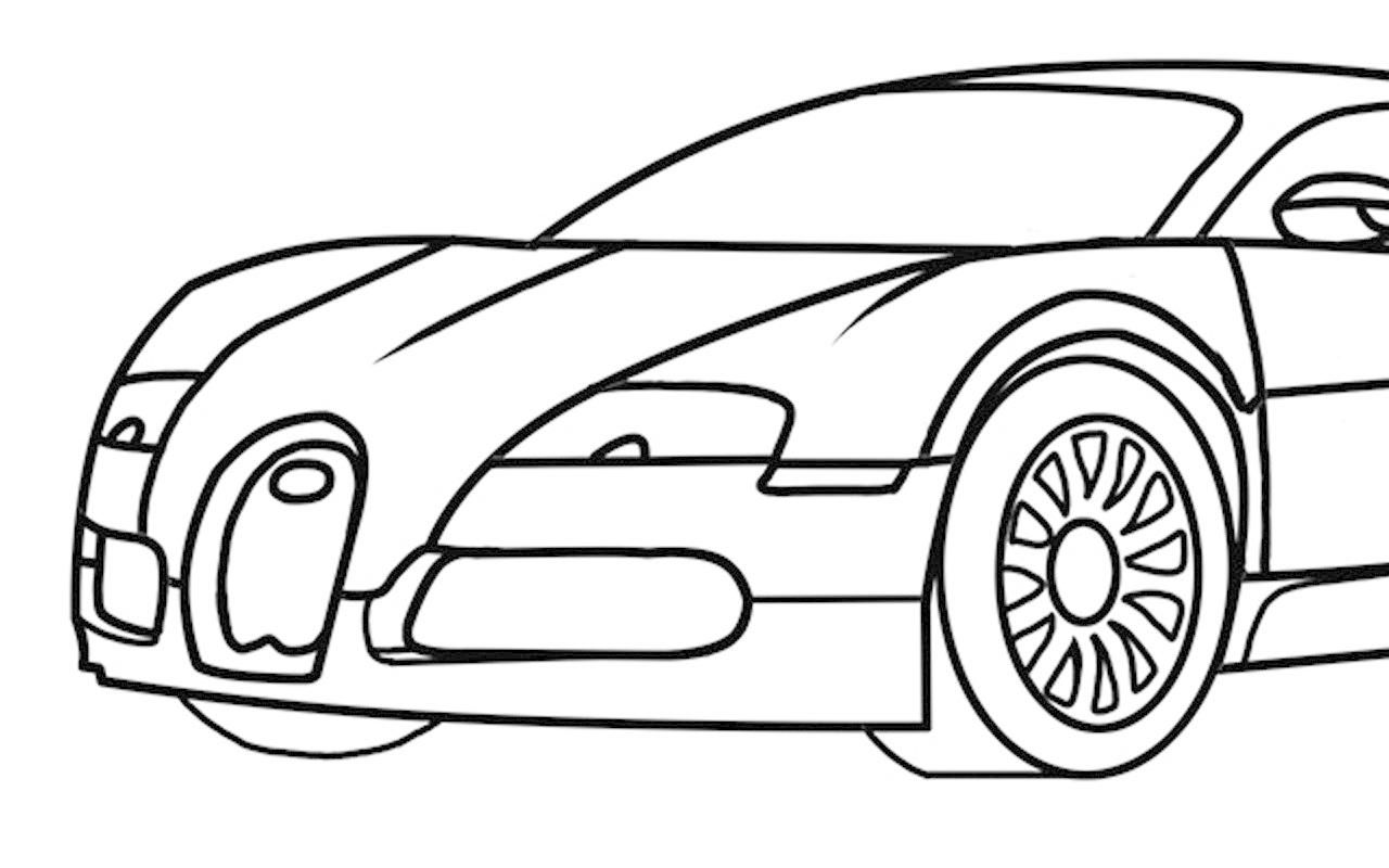 Pin How To Draw Bugatti Veyron Supercars