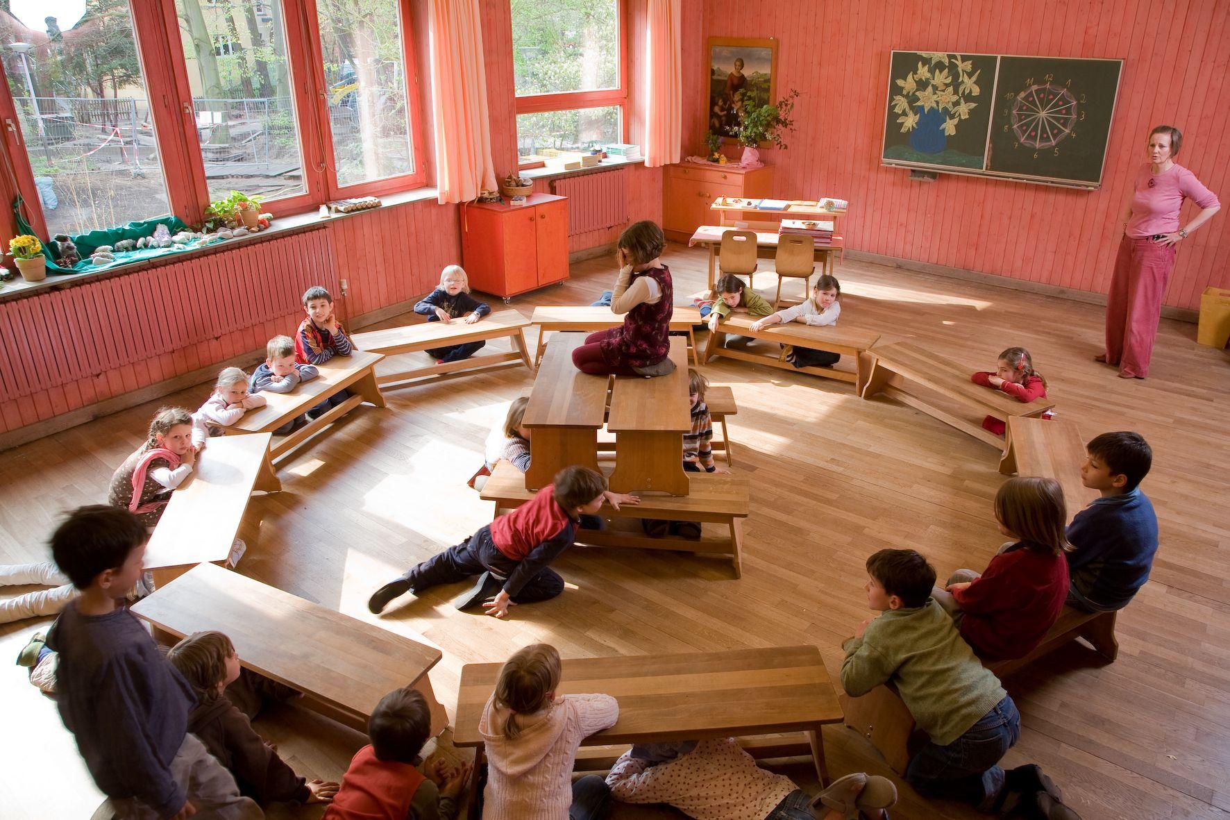 Classroom Rudolf Steiner Schule Berlin: Rudolf Steiner Schule Berlin
