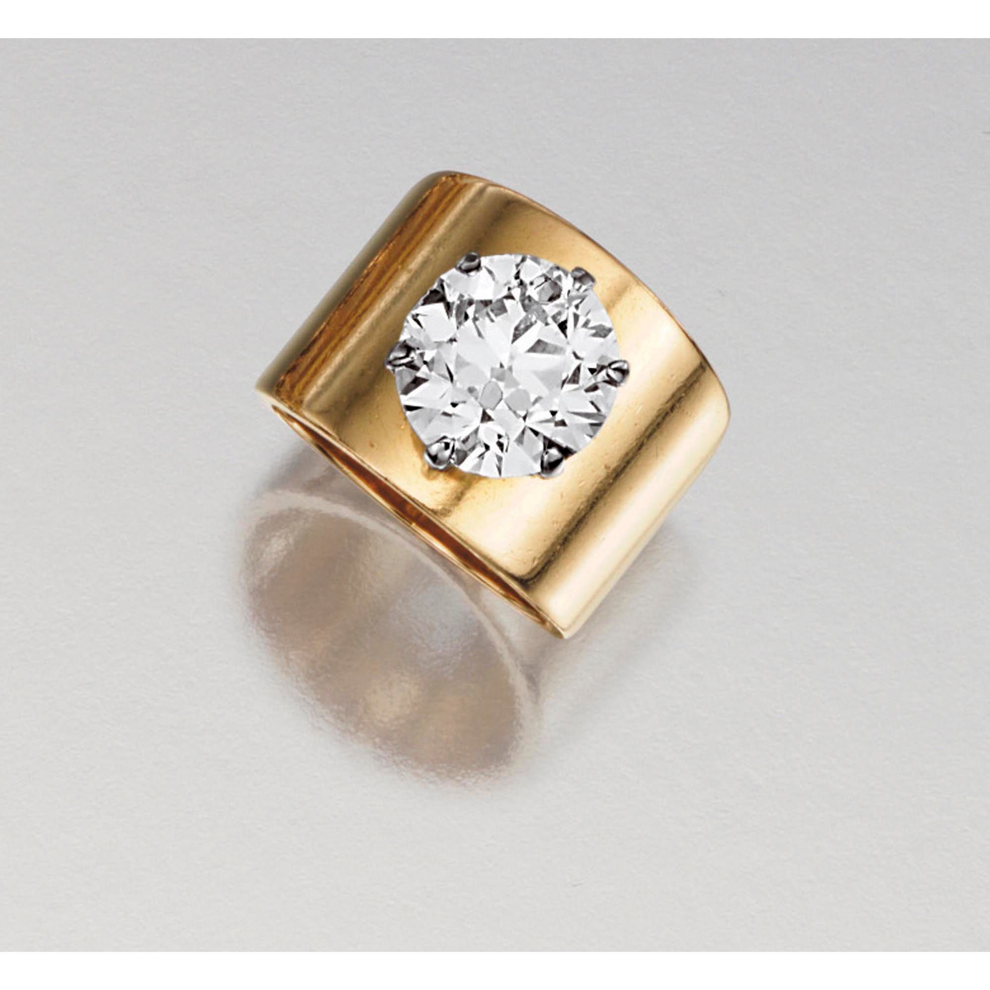 Diamond ring Estimate 38000 50000 CHF 33816 44495USD LOT