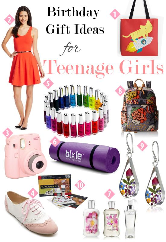 Birthday Gift Guide for Teen Girls | Canvas tote bags ...
