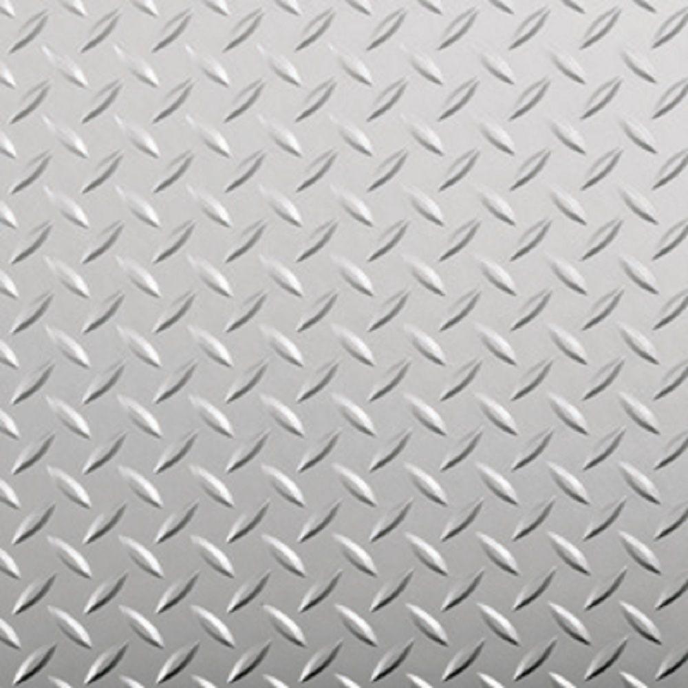 G Floor Diamond Tread 7 5 Ft X 17 Ft Midnight Black Commercial Grade Vinyl Garage Flooring Cover And Protector Gf75dt717mb The Home Depot Garage Floor G Floor Floor Coverings