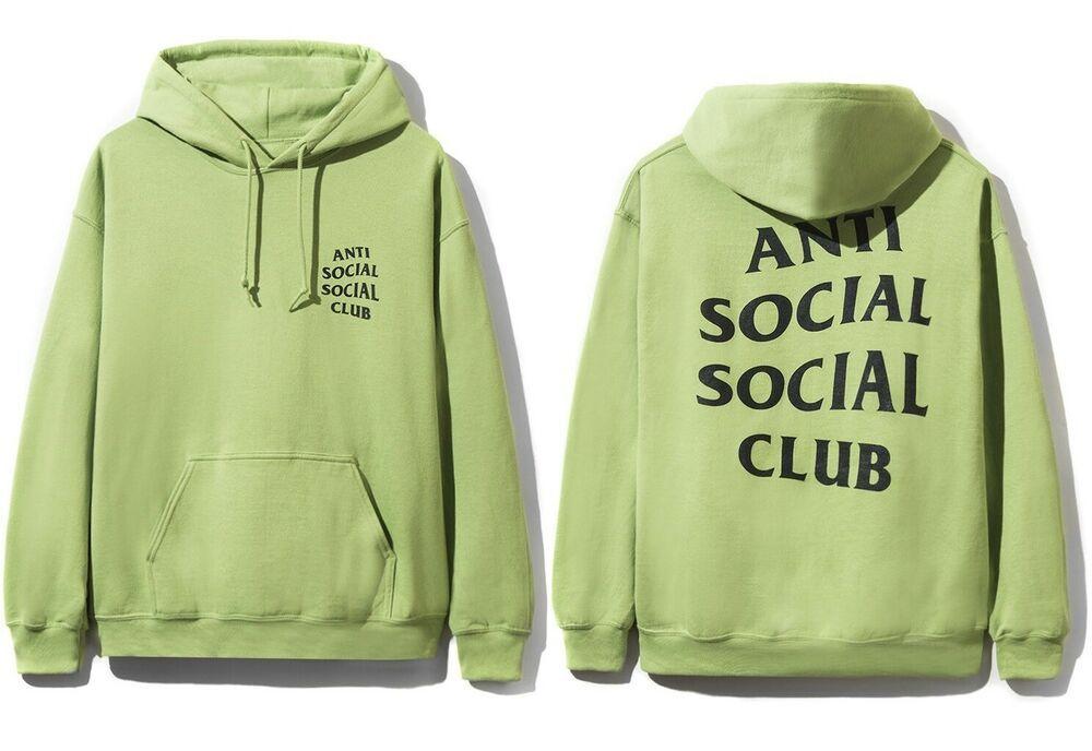 Ds Anti Social Social Club Assc Black Logo 488 Pink Hoodie In Hand Bape Black Logo Hoodies Anti Social Social Club