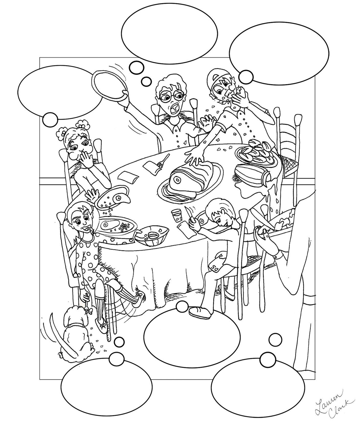 Illustration Created For Pompton Speech Plus A Center