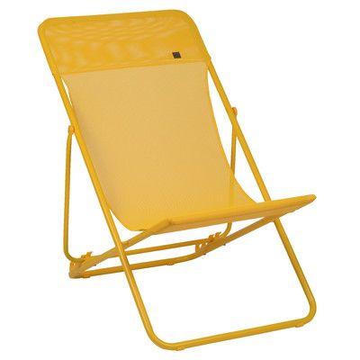 Lafuma Maxi Transat Lounge Chair Ii Transat Chaise De Plage Pliante Chaise Longue Pliante