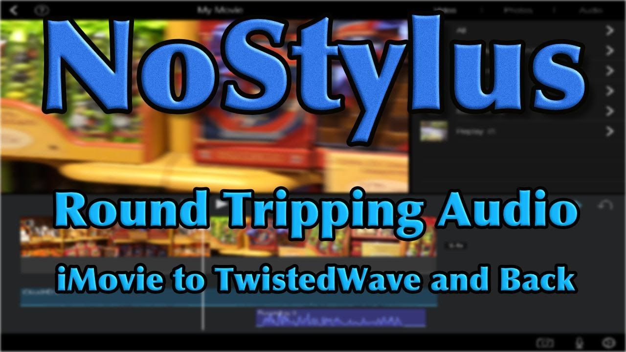 how to get rid of sound in imovie