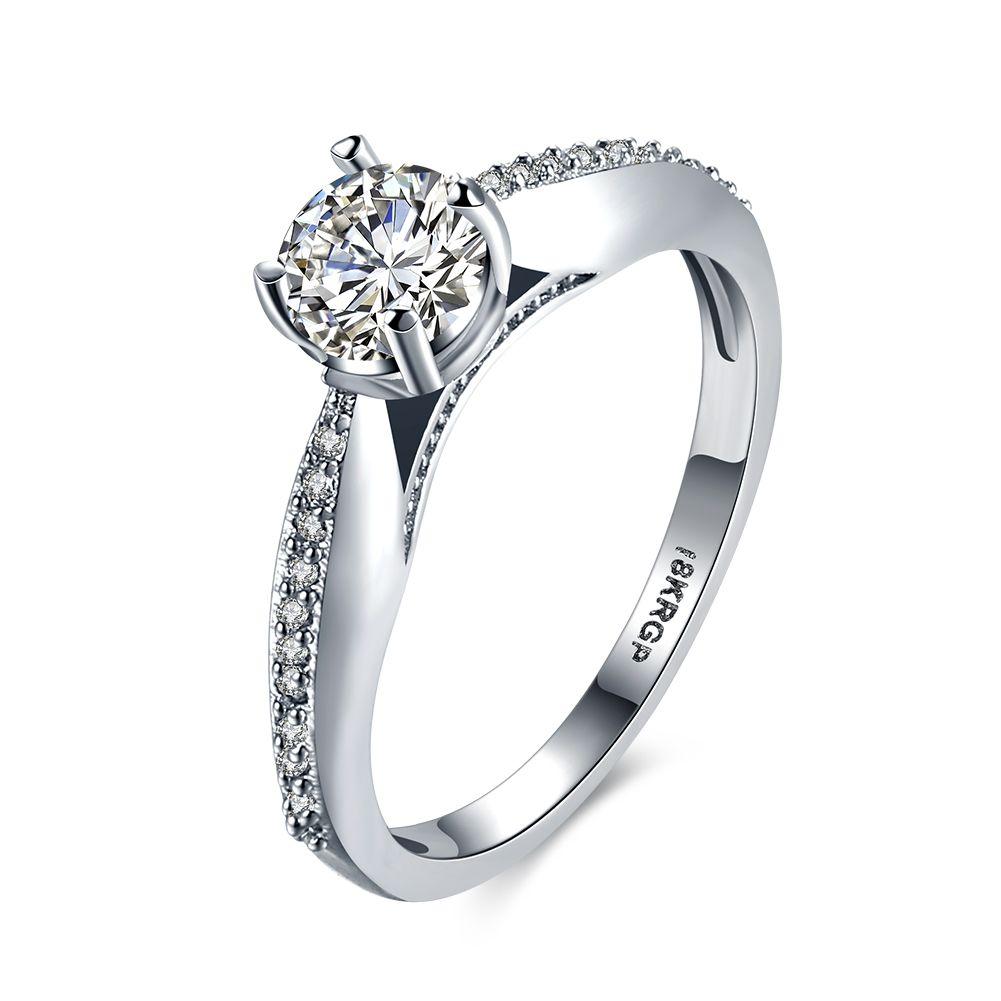 Lureme Hot Selling Shiny Chic Cubic Zirconia Engagement Wedding