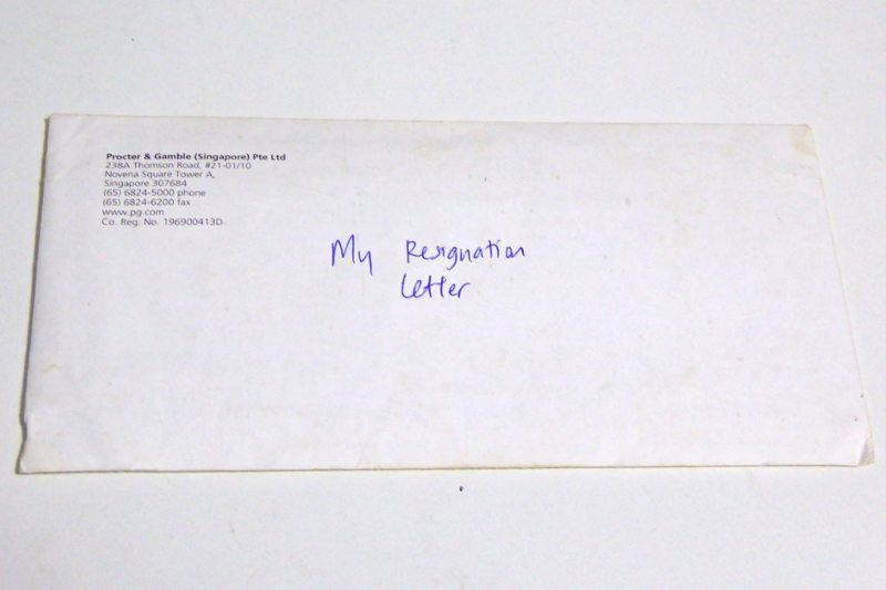 6 tips before you resign to pursue your passion Easy find - new letter format examples envelope