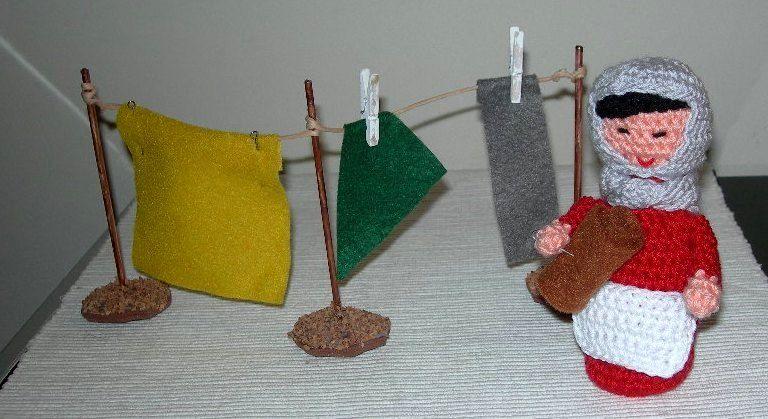Amigurumi Navidad Nacimiento : Lavandera nacimiento amigurumis coruña nacimiento
