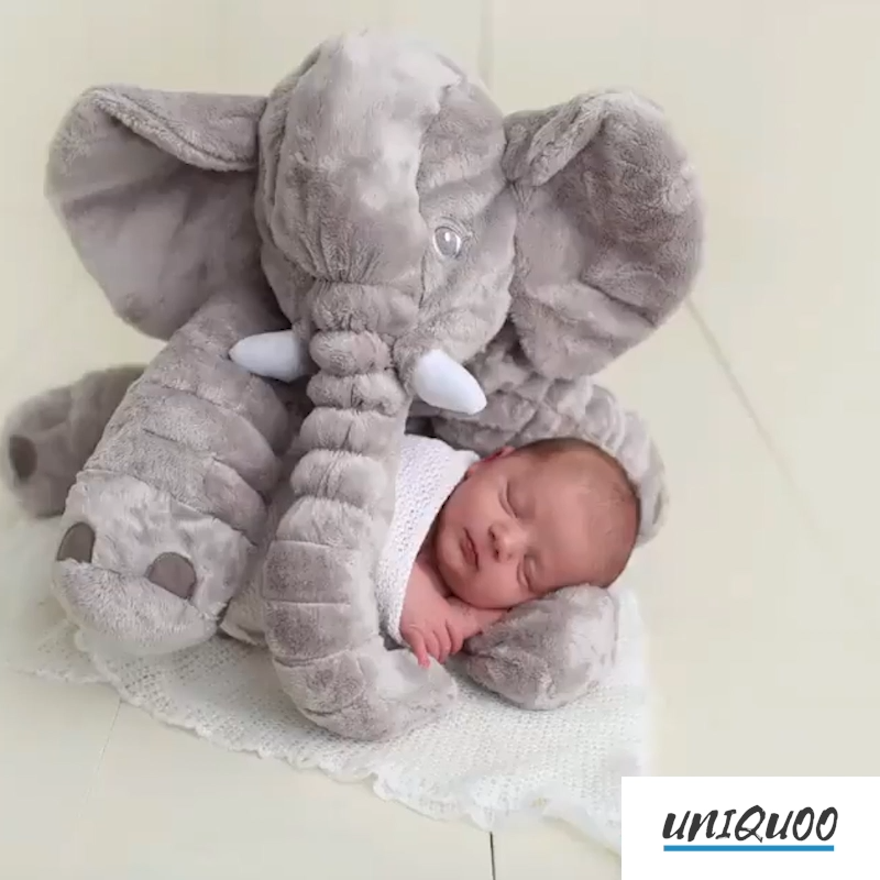 Photo of [NEU] Giant elephant pillow. A soft and gentle friend for your baby