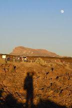 Fotografía Super Luna Cañadas del Teide, Tenerife, Canarias