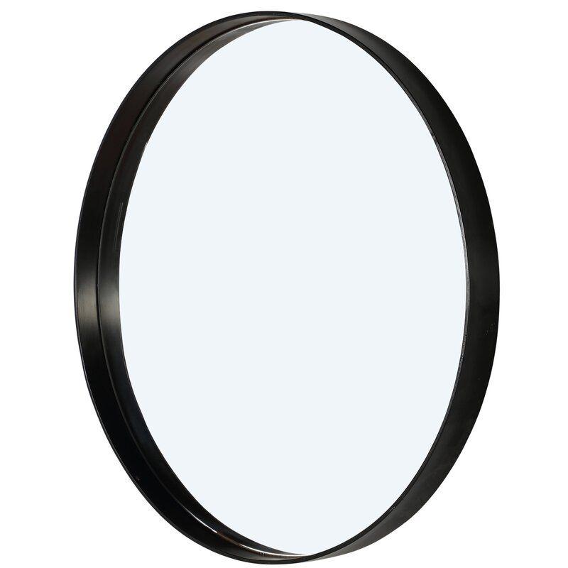 Pin By Karim Gaili On Arkideeen Mirror Wall Black Round Mirror Round Mirror Bathroom