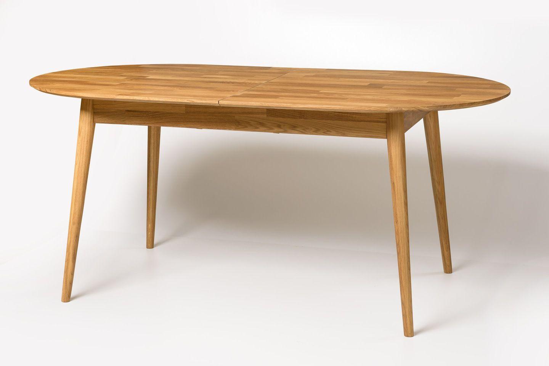 Stół Lity Dąb Owalny 170210xh90 Cm Rozkładany Meble W