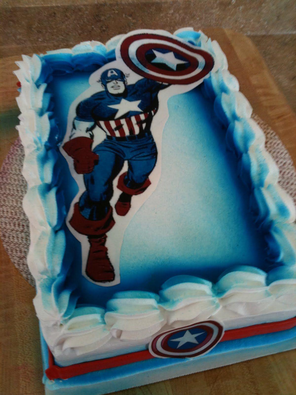 Hector S Custom Cakes Captain America Cake Captain America Cake Captain America Birthday Cake Captain America Birthday