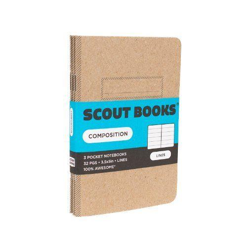 "Scout Books Kraft Composition Notebook 3 Pack (3.5"" x 5""), http://www.amazon.com/dp/1937852148/ref=cm_sw_r_pi_awdm_jIZ7sb0HM4GJP"