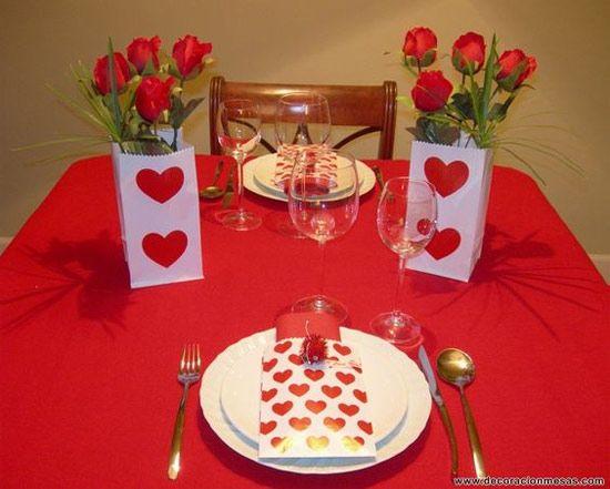 Decoracao Ideias Para O Dia Dos Namorados Jantar Dia Dos
