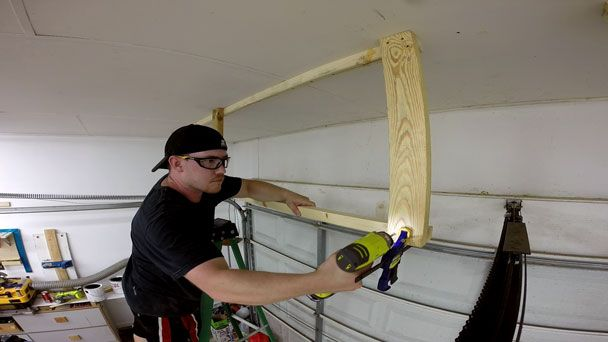 17 images about Garage on Pinterest Router table Rolling workbench and  Table saw  17 images. How To Build Storage Above Garage Door