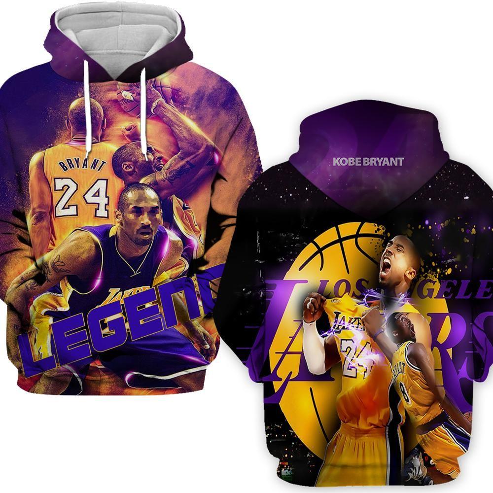 Kobe Bryant HOODIE Black Mamba 8 24 Hoodies Youth Kids/' Hoodie