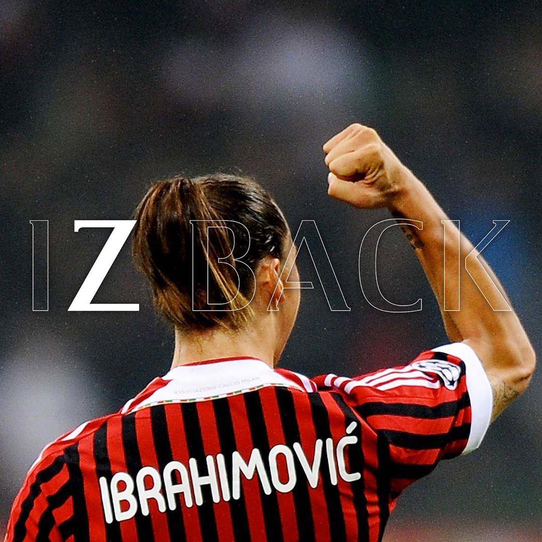 "AC Milan on Instagram ""🦁🔴⚫️ IZBACK"" nel 2020 Squadra"