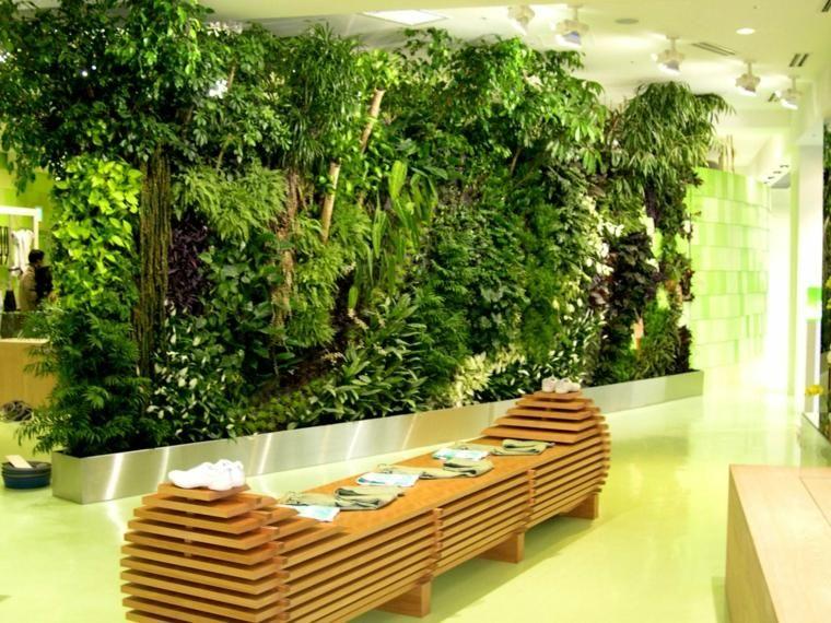 Plant vertical garden ou comment faire un vrai jardin au - Comment faire un jardin vertical ...