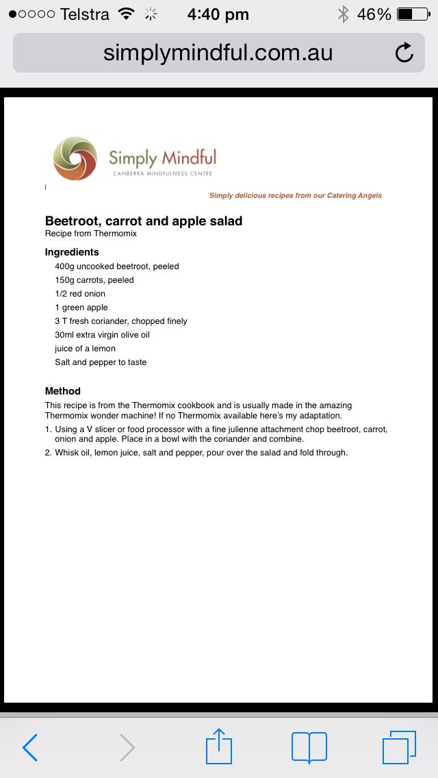 Thermo Salad