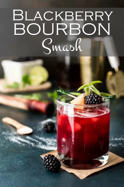 Photo of Blackberry Bourbon Smash Recipe!