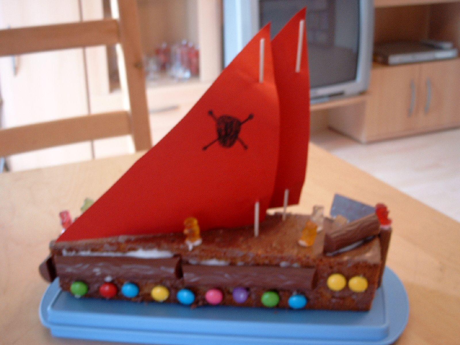 Piratenschiff Kuchen Baking Fun Pinterest Piratenschiff Kuchen