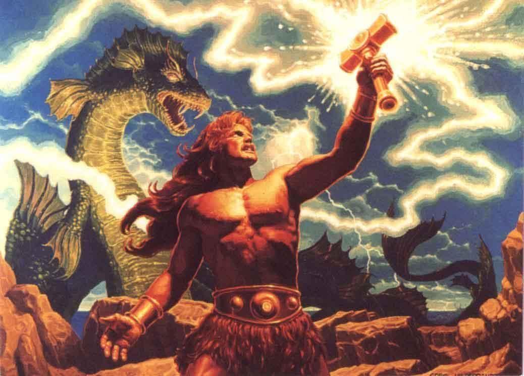 Image result for thor mythology