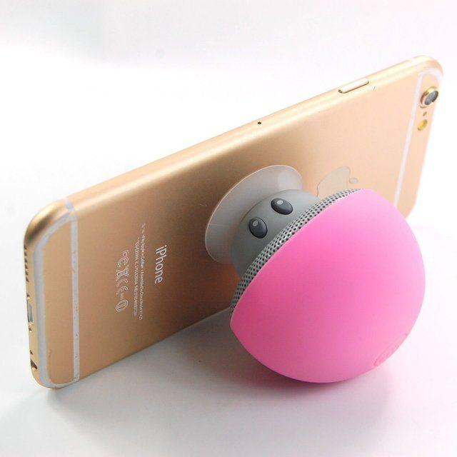Mini Mushroom Bluetooth Speaker Stand