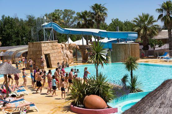 Camping**** Lu0027Air Marin - Vias #Camping #Herault #Mediterranee - camping a marseillanplage avec piscine