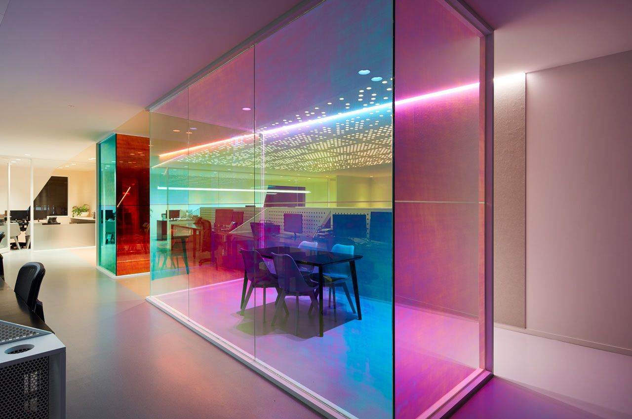 Ambience Designs An Office For Studio Y That Produces An Evolving