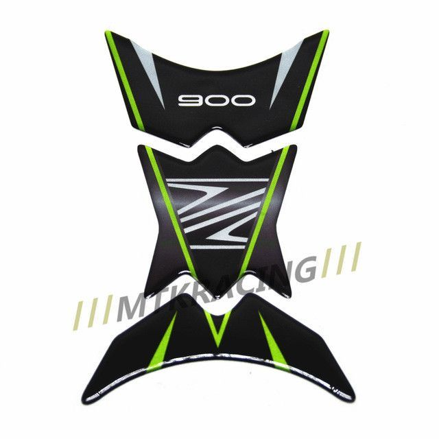 PRO-KODASKIN Motorcycle 3D Gas Cap Fuel Tank Pad Protection Sticker Decal for KAWASAKI Z900 tank pad