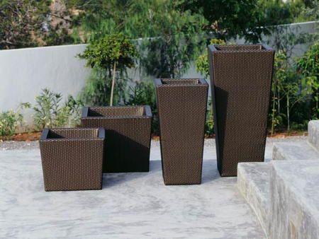 maceteros fibras dedon ambiente plantas Pinterest Fibra - maceteros para jardin
