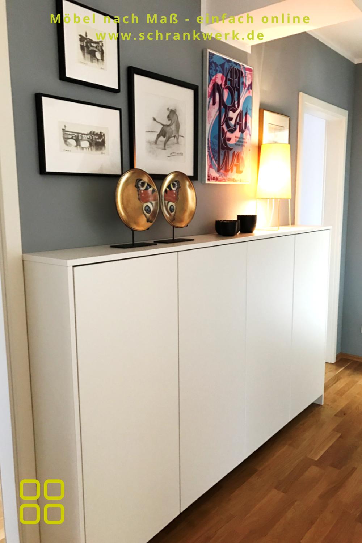 Modernes Sideboard Schrankwerk De In 2020 Nobles Wohnzimmer Sideboard Selber Bauen Sideboard Flur