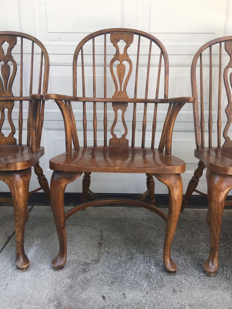 Drexel Heritage Maple Windsor Chairs 6 Ebay Drexel Heritage Chair Windsor Chair