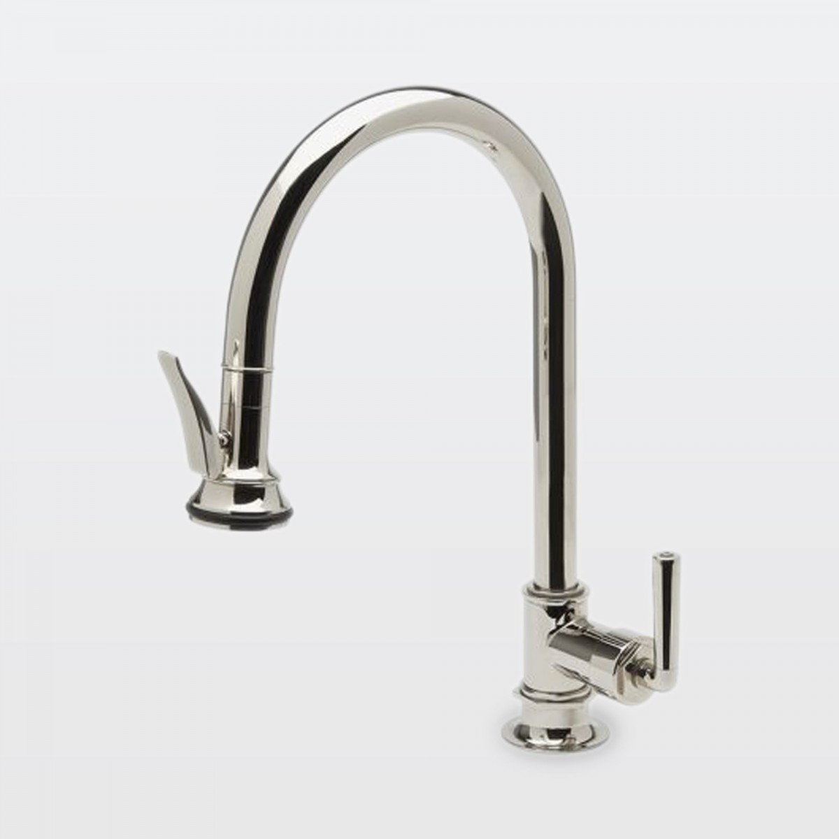 In Brass Waterworks Waterworks Henry Kitchen Faucet Single Hole Polished Chrome Gingers Kitchen Faucet Single Hole Kitchen Faucet Kitchen Faucet Holes