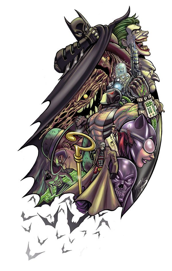 Batman Scarecrow Tattoo Designs 1000 Images About Tattoos On