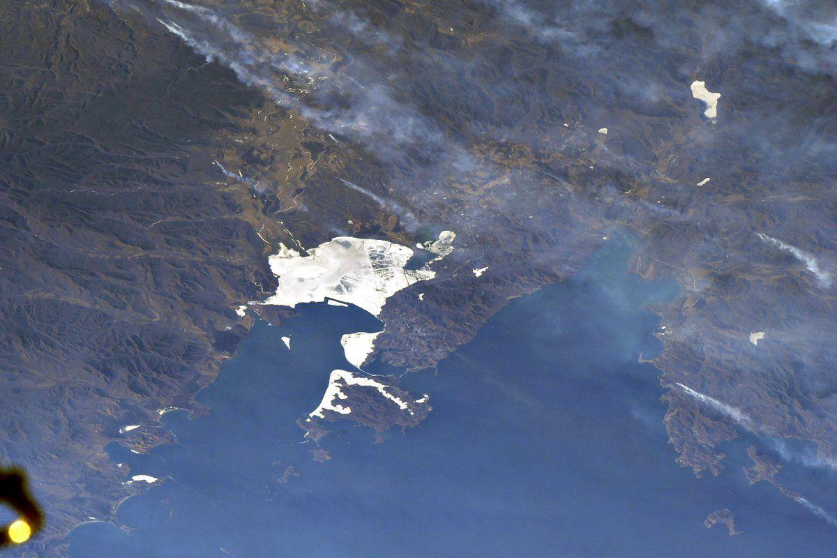 Фотографии владивостока с космоса