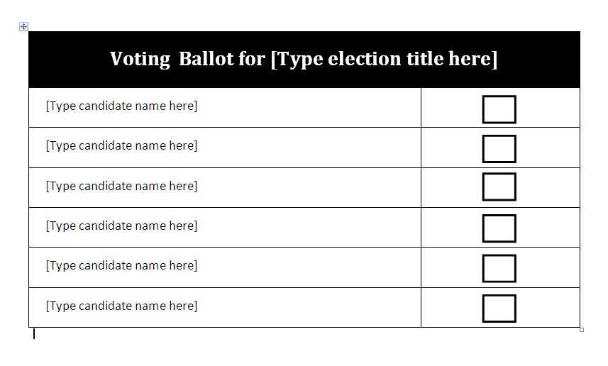 sample ballot template image search results LbhgT3Pg