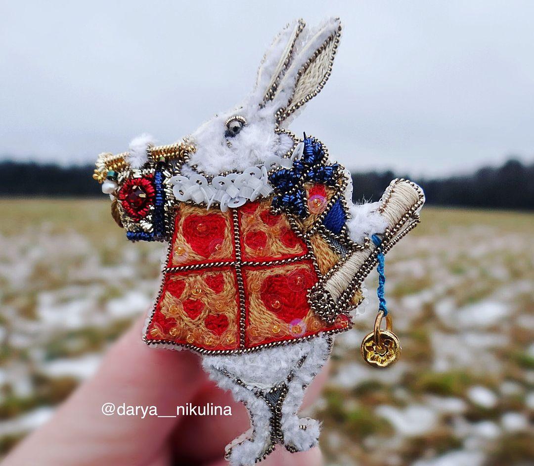 И так Кролик во всей красе!!🐰👑 Для фото специально ...