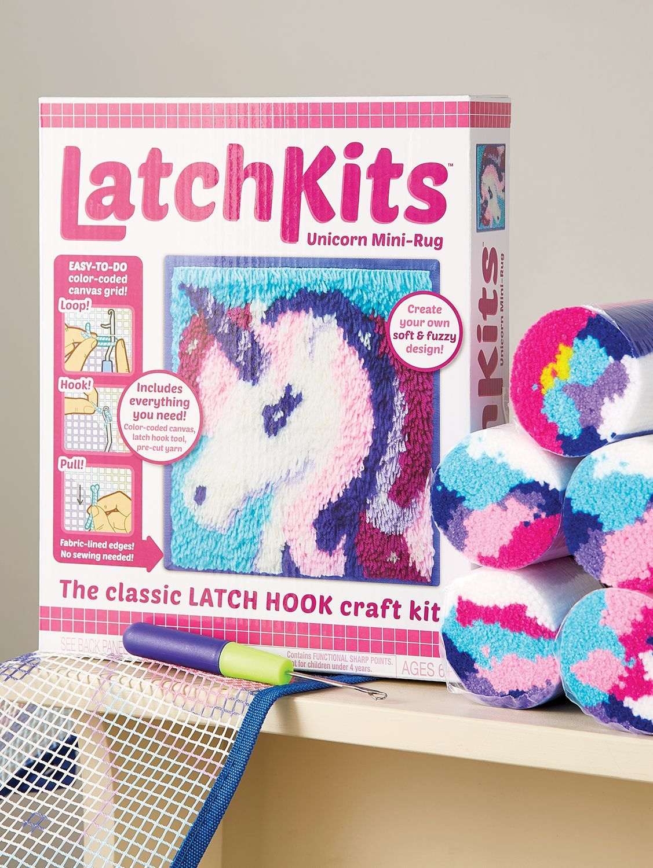 Unicorn Latch Hook Rug Kit With Images