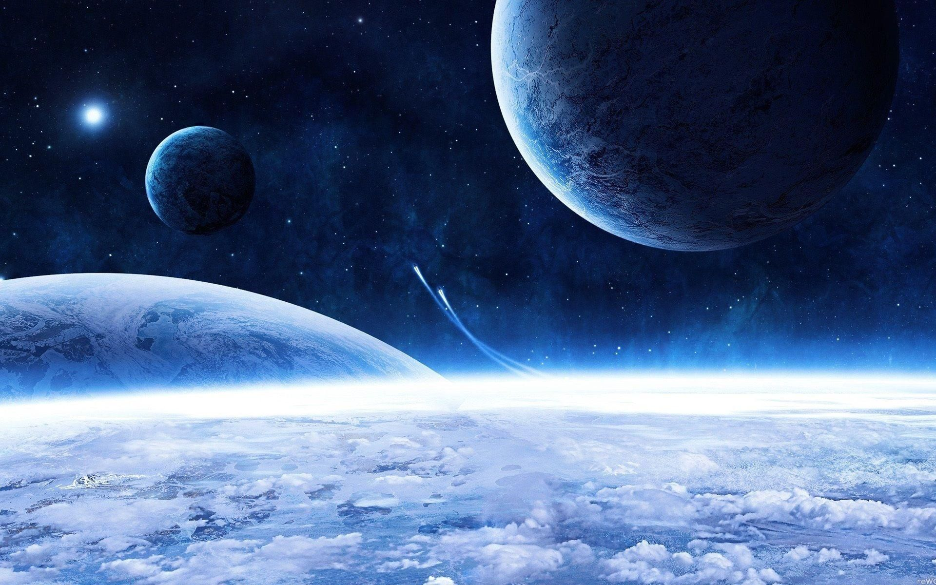 Blue Planet Collection See All Wallpapers Wallpapers Background Space Planets Wallpaper Hd Wallpaper Cool Wallpapers For Pc