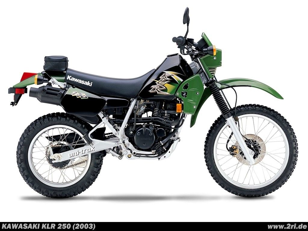 Kawasaki KLR 250 - My hubby loves this.