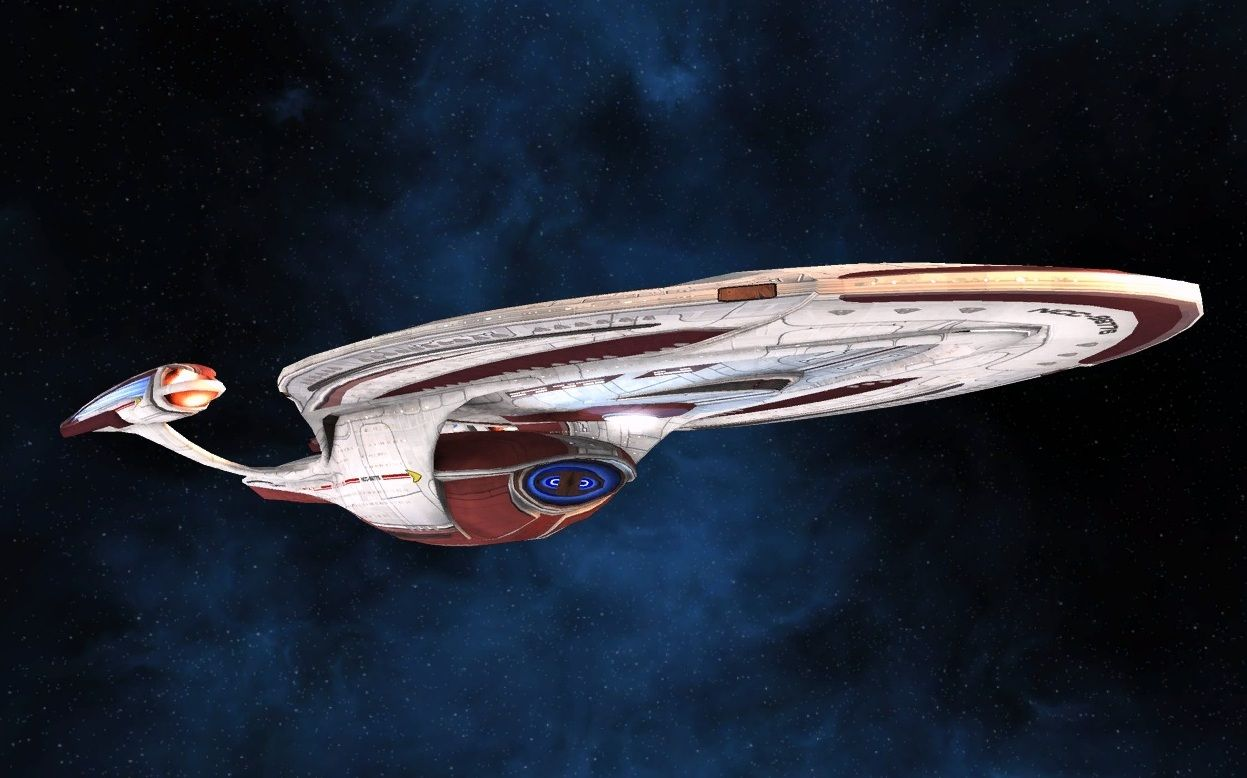 Star Trek Online – Federation Starship – Odyssey Tactical ...