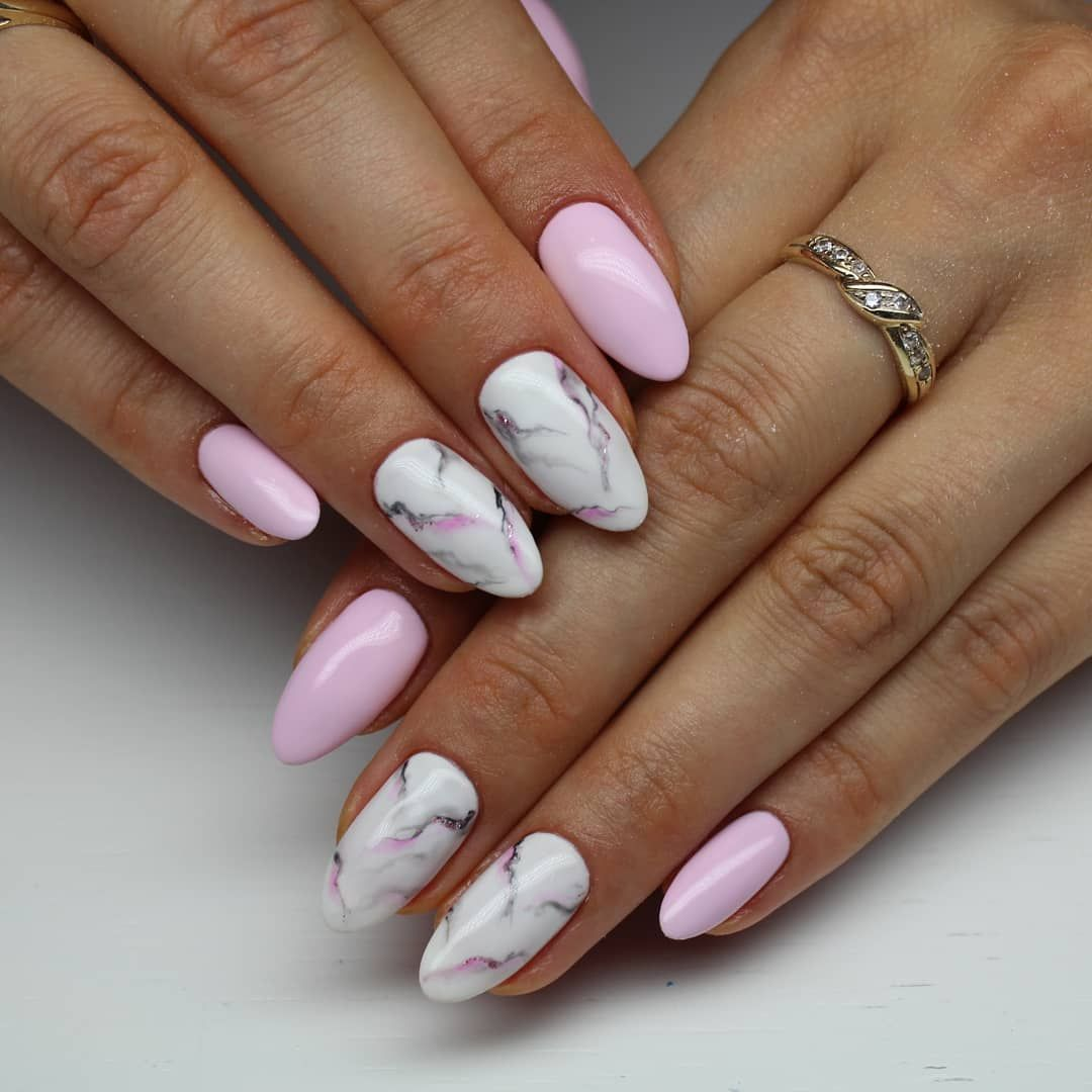 Marmurkowepaznokcie Marmur Marmurnails Paznokcie Nail Nails