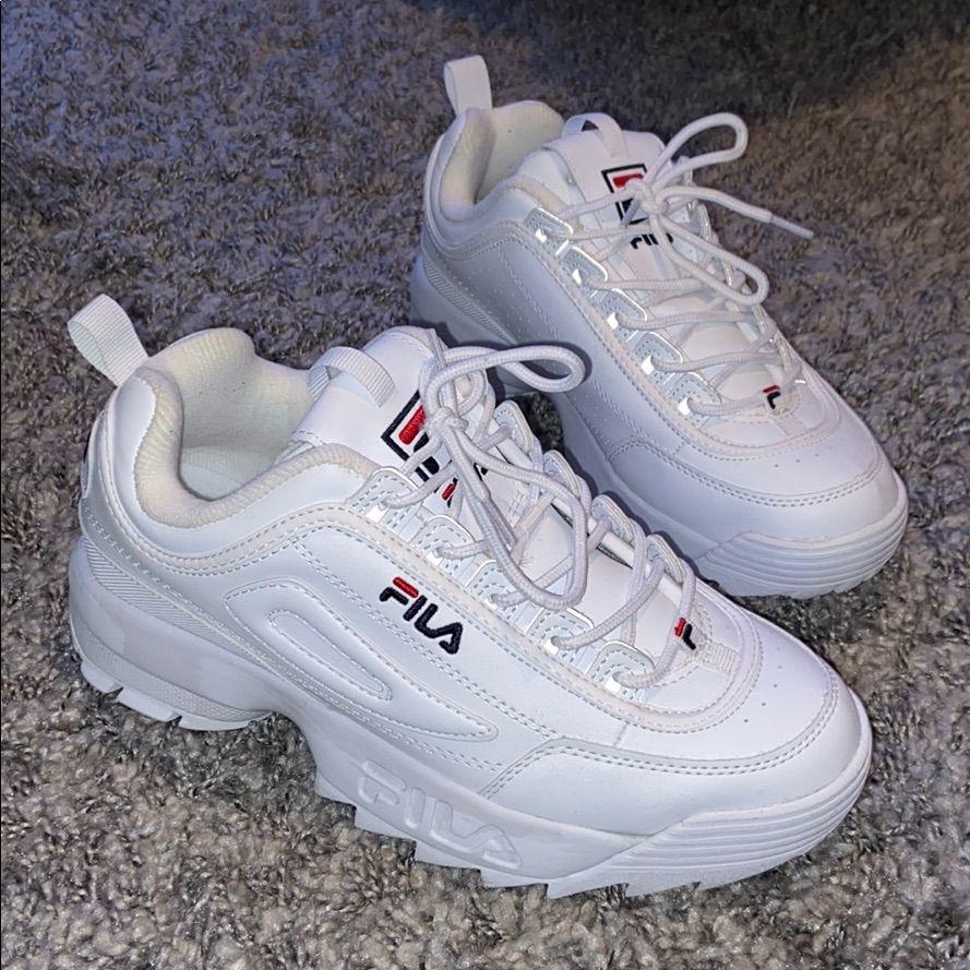 Fila Shoes Dame Fila Disruptor 2 PremiumFarge: hvit Dame Fila Disruptor 2 Premium Color: White