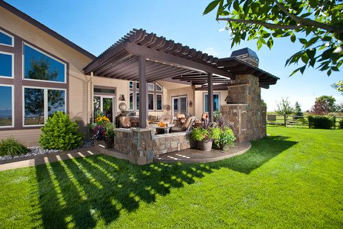 Pergola Against The House Patio Design Ideas, Pictures, Remodel, And Decor    Page 3   Gardening For Life