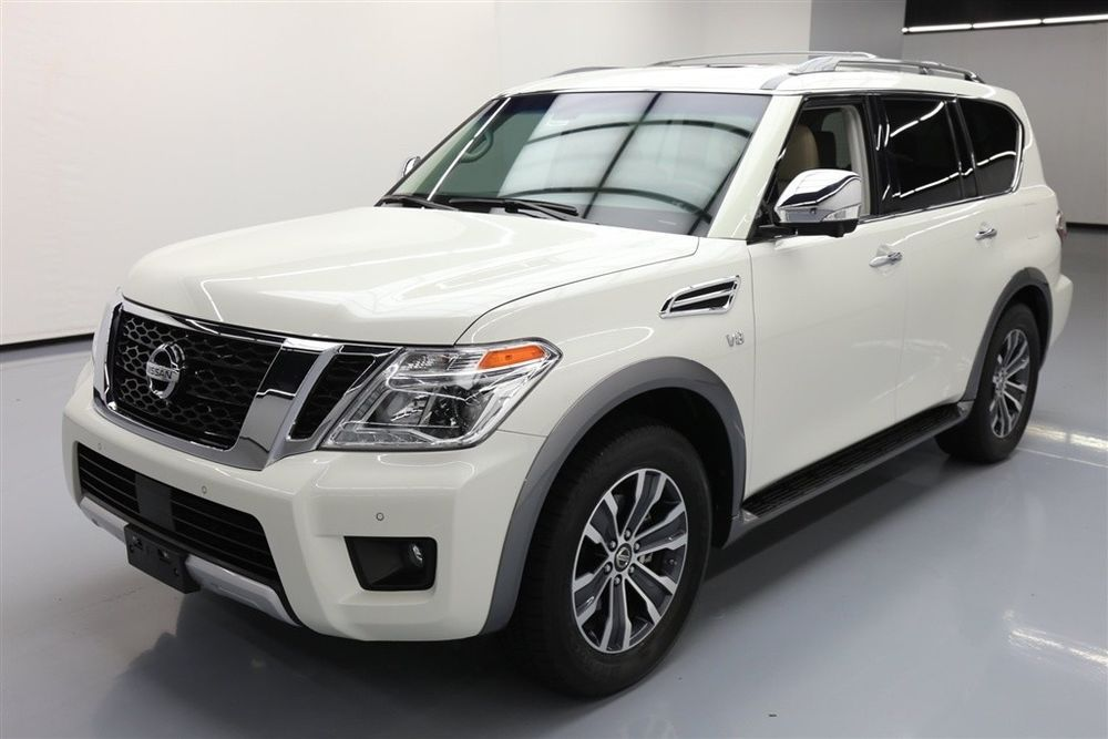 Nissan Armada SL Texas Direct Auto 2017 SL Used 5.6L V8