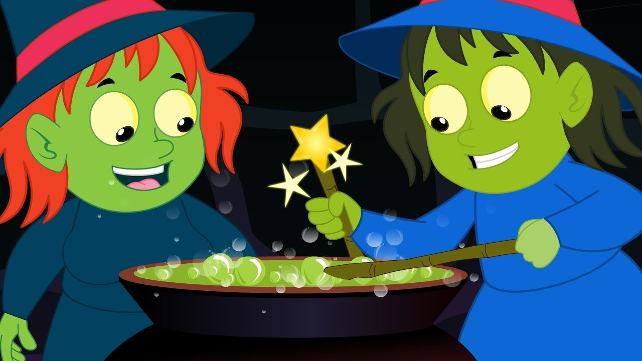 Witches Soup | Scary Rhymes | Kids Songs | Baby Videos..Watch the video