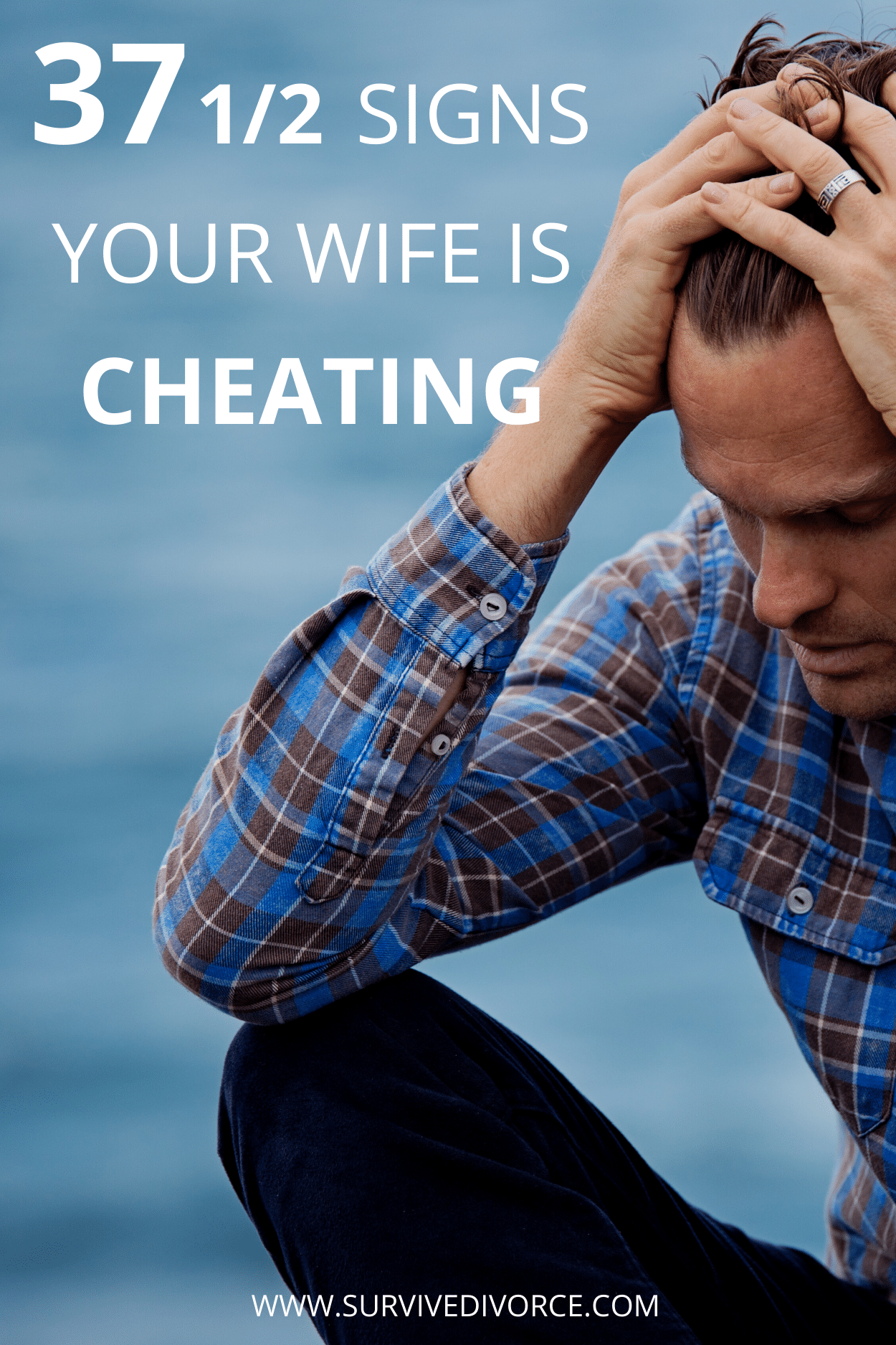 Usually when someone in the relationship is cheating, you