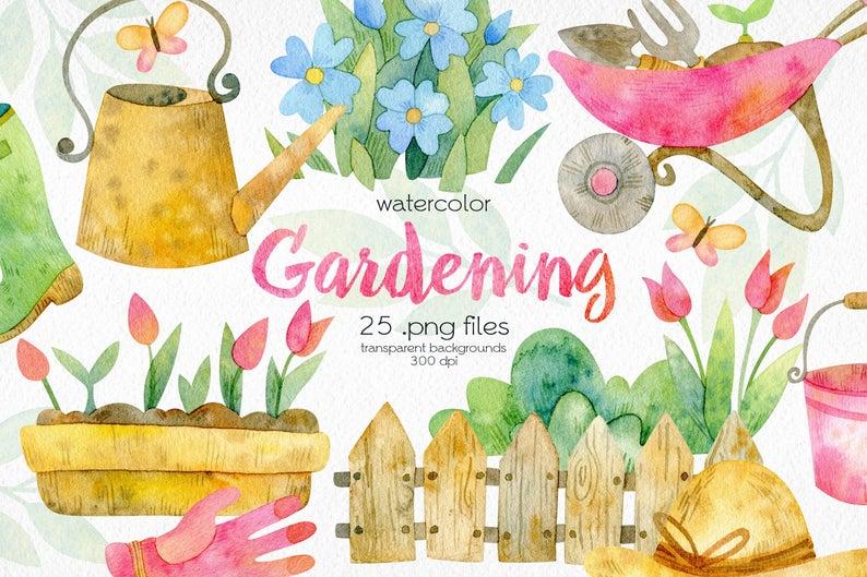 Floral Flower Background clipart - Fence, Garden, Flower, transparent clip  art